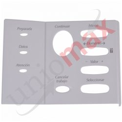 Control Panel Overlay (Spanish) C4251-40015