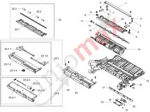 Tray 1 With Frame-Middle JC61-04384A